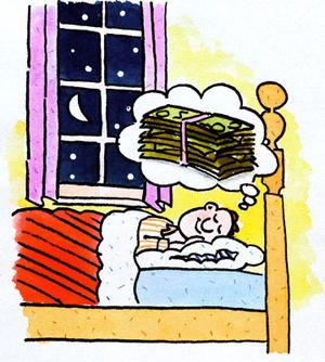 К чему снятся бумажные деньги — толкование сна, сонник
