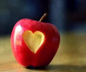 присушка на яблоко