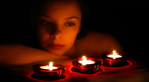 к чему снятся свечи