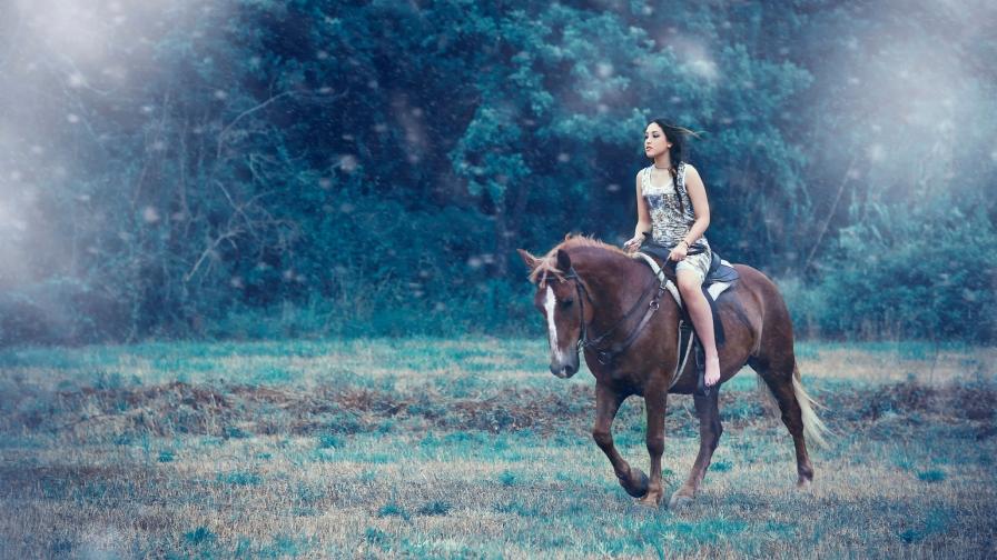 к чему снится скакать на лошади