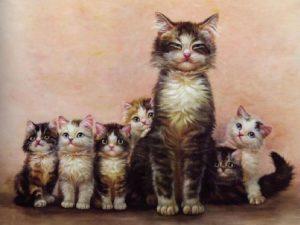 снится кошка с котятами